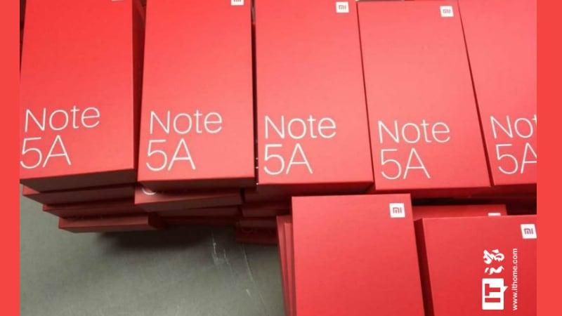 Xiaomi Redmi Note 5A के स्पेसिफिकेशन और रिटेल बॉक्स लीक