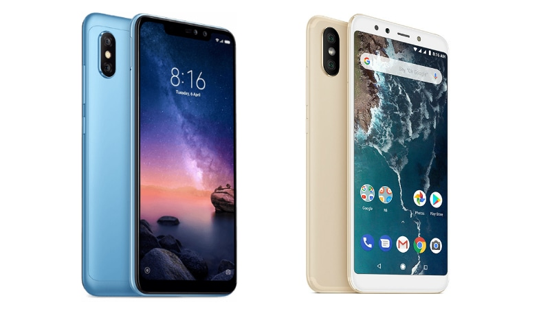 Xiaomi Redmi Note 6 Pro vs Mi A2: Price, Specifications Compared