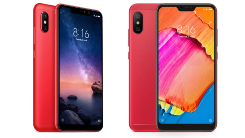 Xiaomi Redmi Note 6 Pro vs Xiaomi Redmi 6 Pro: Price, Specifications Compared