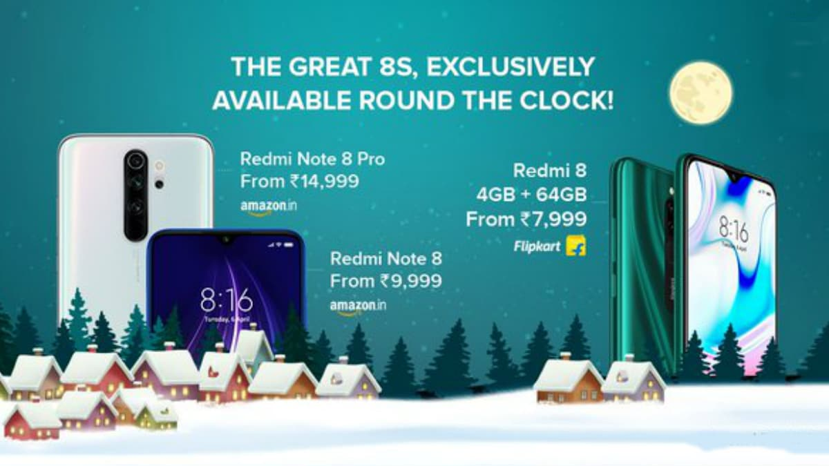 Redmi Note 8, Redmi Note 8 Pro, Redmi 8 Now on Open Sale in India: Check Price, Specifications, More