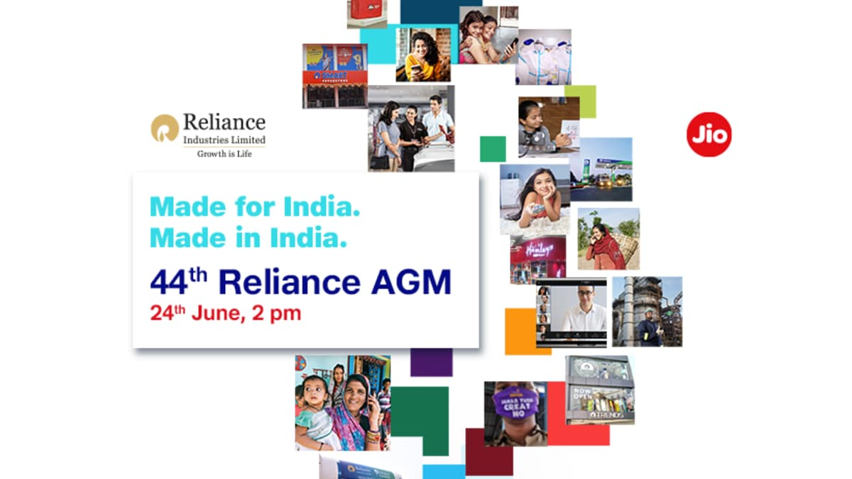 Reliance AGM 2021: How to Watch Live, Jio Chatbot Announced