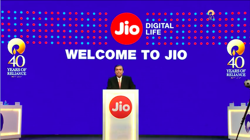 Jio Broke the Myth That Indians Are Averse to New Technology, Mukesh Ambani Says
