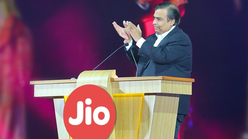 Reliance Jio Says Rivals' Failure to Invest in Tech Causing Financial Stress