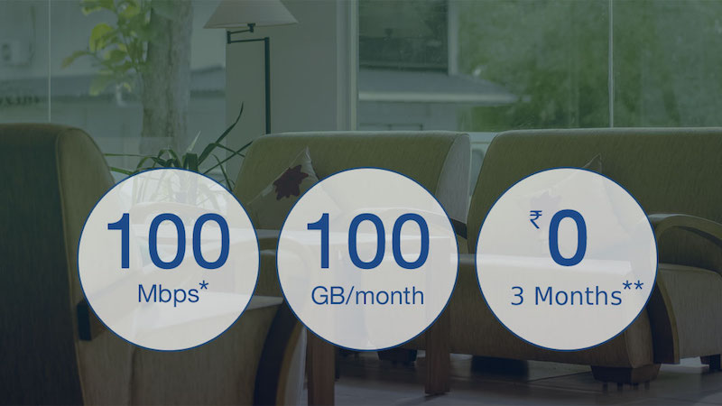 Reliance JioFiber Preview Plan Briefly Listed Online: 100GB of Free Data at 100Mbps for 3 Months