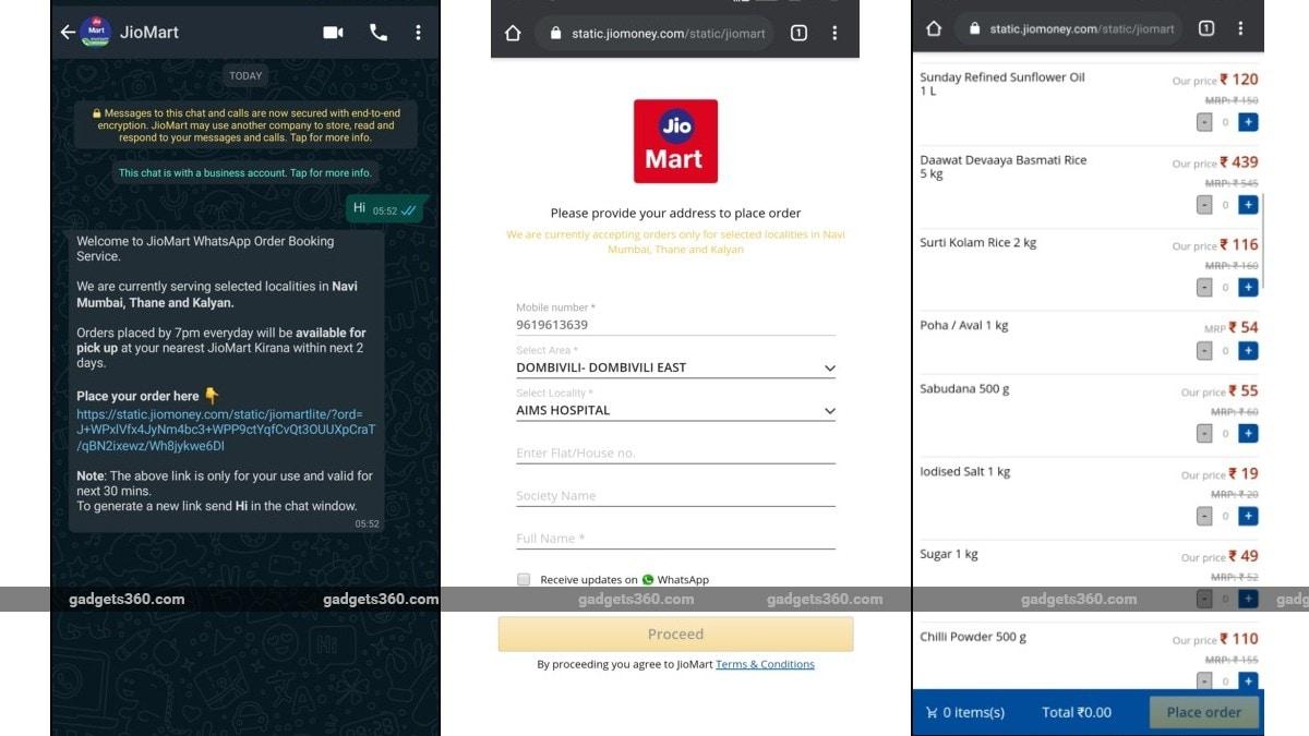 JioMart WhatsApp Order Booking सर्विस लॉन्च, यूं करें आसानी से अपना ऑर्डर