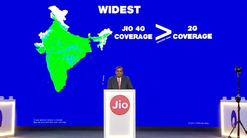 Jio Subscriber Base Touches 215 Million: Mukesh Ambani at RIL AGM