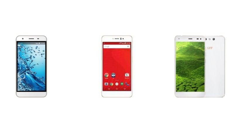 Reliance Jio Is Now Selling Lyf Smartphones, JioFi 4G Hotspot on Jio.com