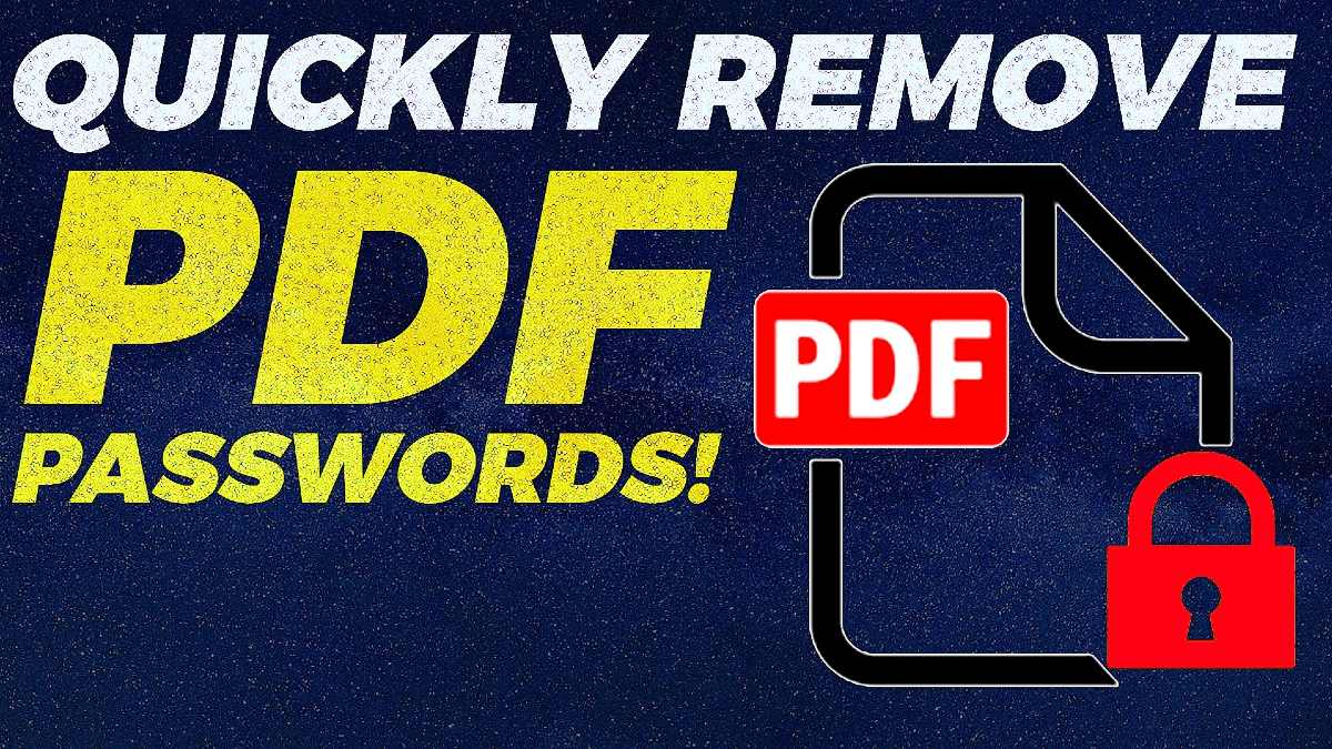 How to Remove Password From PDF on Google Chrome, Android, iPhone, Windows, and Mac