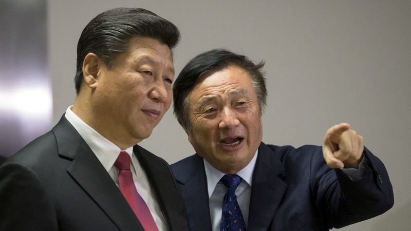 Huawei's Founder Faces Fight for Company and Family