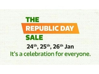 Flipkart Republic Day Sale Kicks Off Tuesday; Early Deals and Apple Combo Offers Detailed