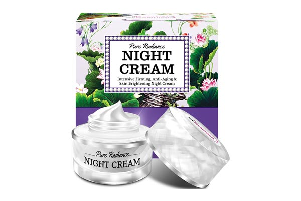 best retinol cream in india StBotanica Pure Radiance Night Cream - Intensive Firming, Anti-Aging & Skin Brightening, 50gm (With Vitamin C, Retinol, Hyaluronic acid, Collagen)
