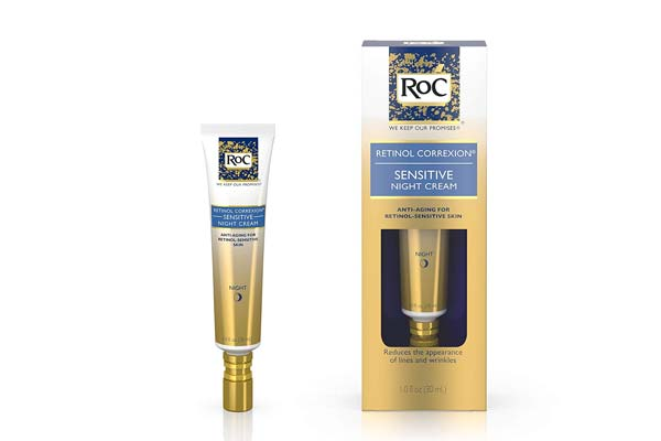 best retinol cream in india RoC Retinol Correxion Sensitive Night Cream (Sensitive Skin) 30ml/1oz