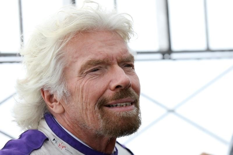 Richard Branson Says He'll Fly to Space by July Aboard Virgin Galactic Spaceship