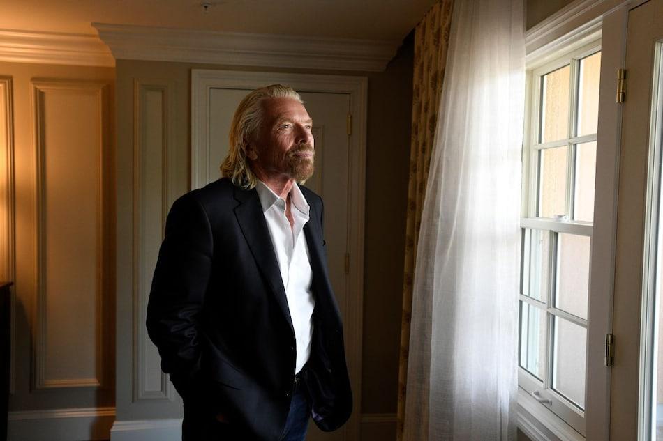 Virgin Galactic's Richard Branson Calls His Upcoming Spaceflight a 'Pinch-Me Moment'