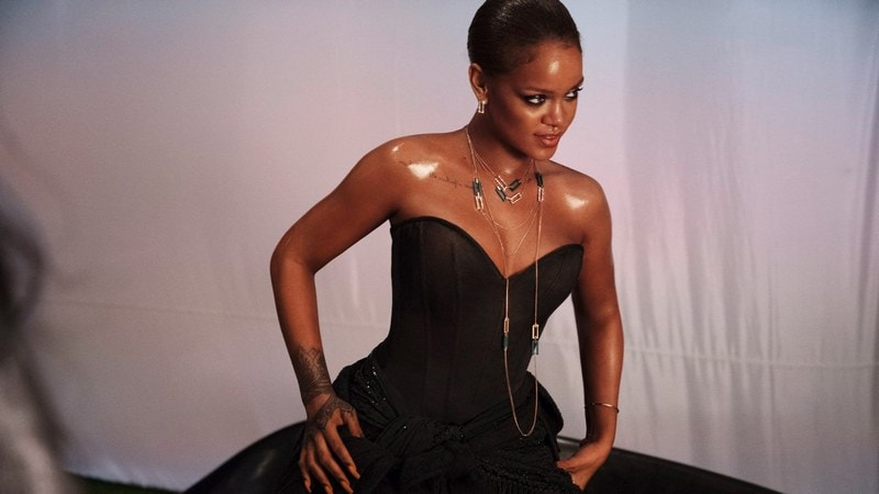 Rihanna Urges Fans to Delete Snapchat After Ad Mocking Assault by Brown