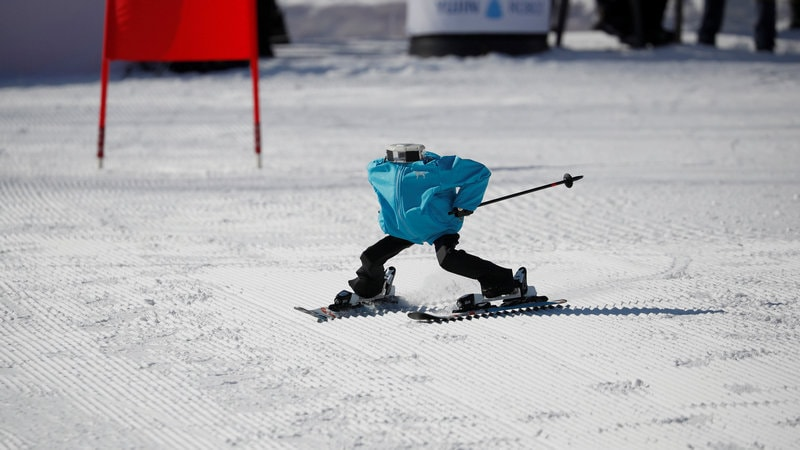 Winter Olympics: Robots Take to the Slopes on Sidelines