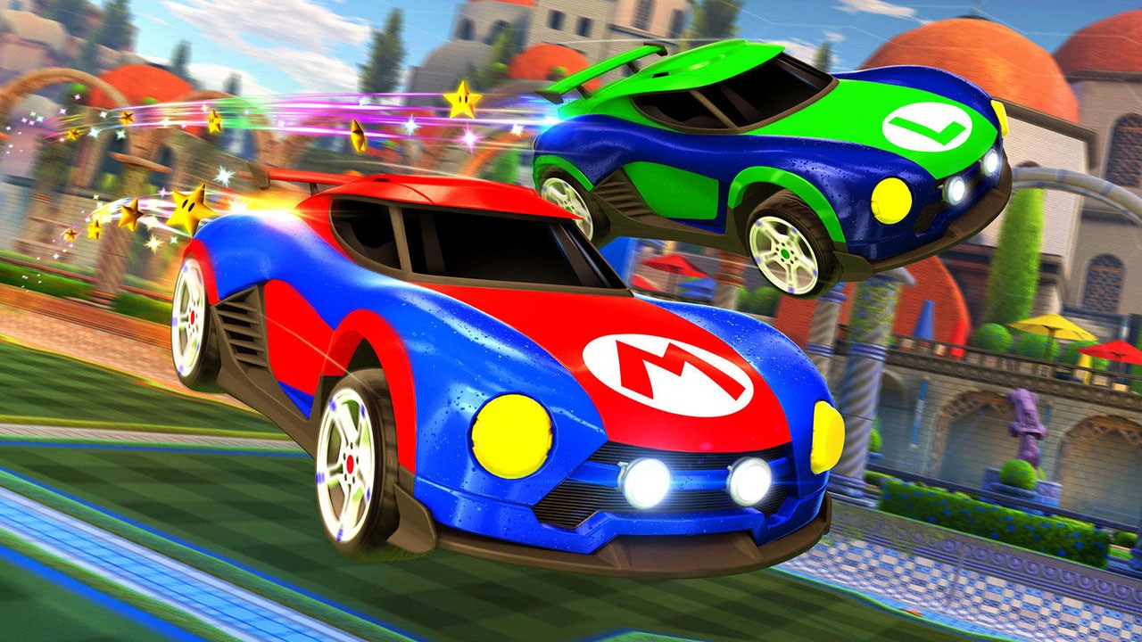 Rocket League on Nintendo Switch Will Have Free Mario and Metroid Cars