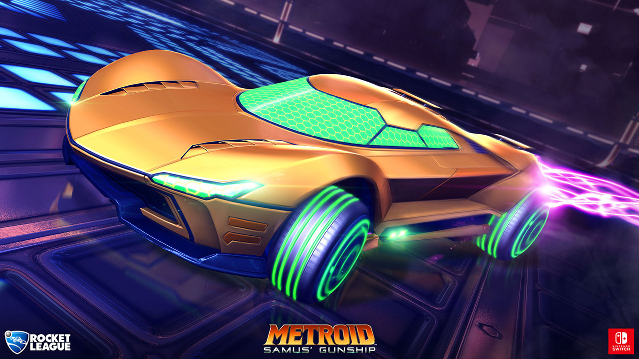 rocket league switch metroid Rocket League Metroid