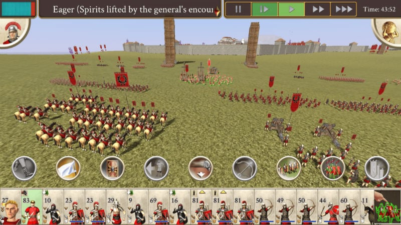 Rome: Total War for iPhone Trailer Released, Will Launch on August 23