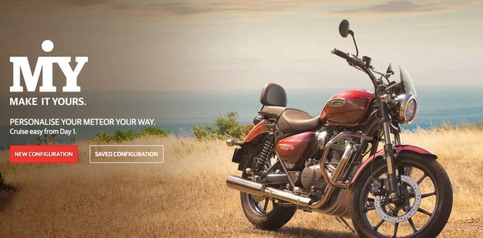 Royal Enfield 'Make It Yours' Is a Unique Online Tool That Lets You Customise and Book Your New Motorcycle