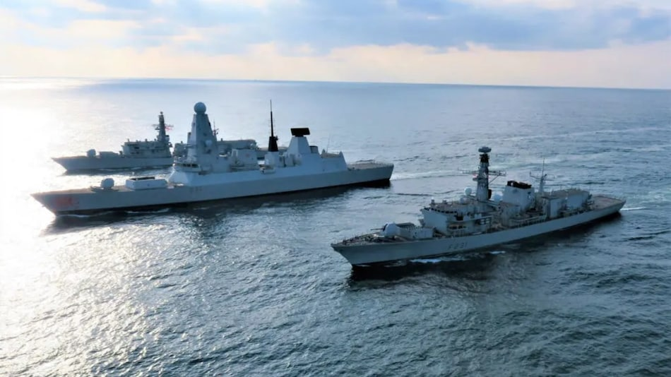 Britain's Royal Navy Tests AI to Counter Missile Attacks for the First Time