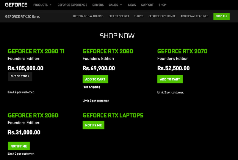 rtx 2060 nvidia india geforce_rtx_2060_india_price
