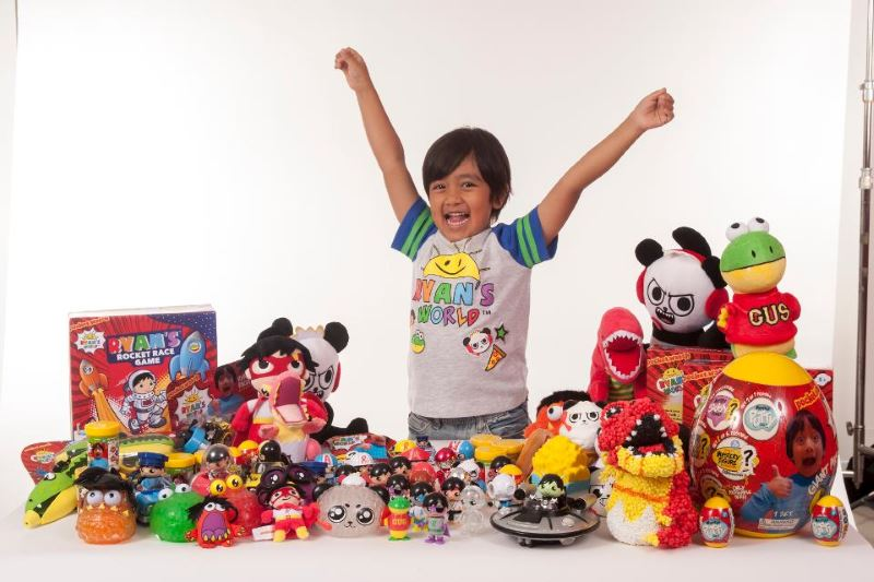 Seven-year-old toy reviewer becomes YouTube's highest-earning star