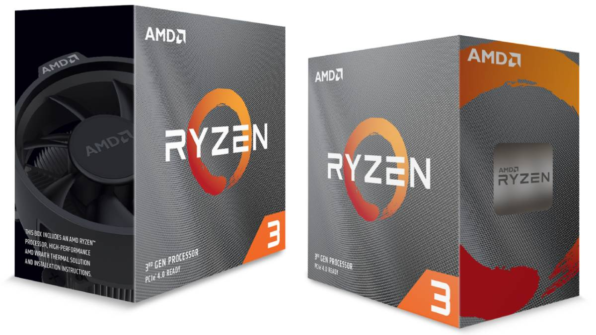 AMD Ryzen 3 3300X, Ryzen 3 3100 Entry-Level CPUs Launched; B550 Value Chipset With PCIe 4.0 Coming Soon