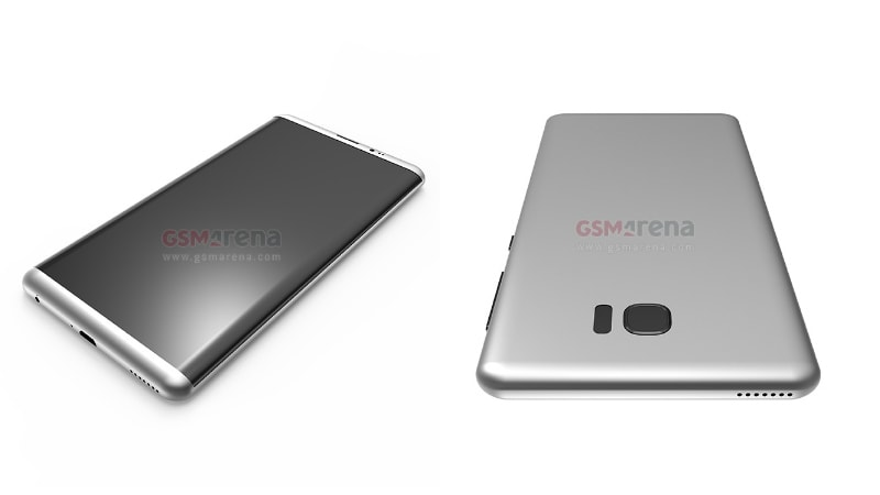 Samsung Galaxy S8 3D Renders Show No Dual Camera Setup and Home Button, But 3.5mm Audio Jack Intact