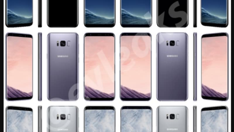 Samsung Galaxy S8, Galaxy S8+ Arctic Silver Colour Variant, DeX Station, Power Banks Leaked