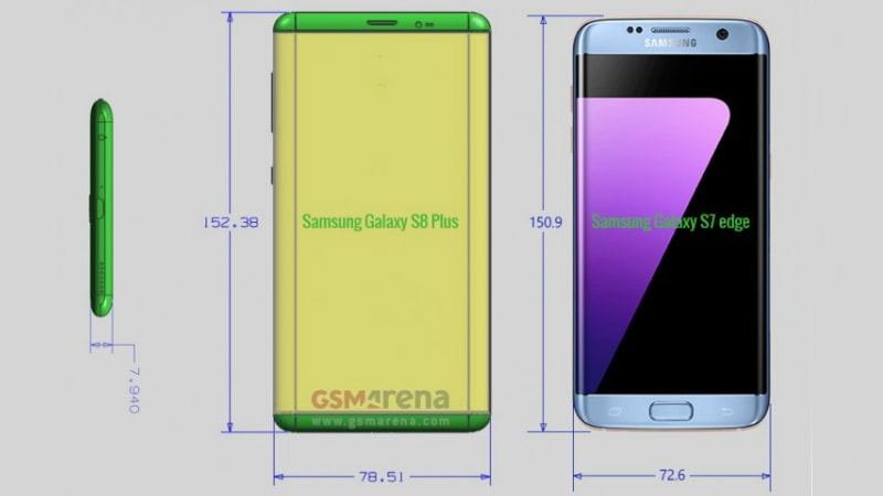 Samsung Galaxy S8 Leaks Reveal Selfie Camera Autofocus, Dimensions, and Model Numbers