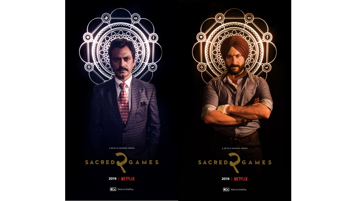 OnePlus 7 Pro to Support Netflix HDR, Used to Shoot Sacred Games 2 Posters and Behind-the-Scenes Footage