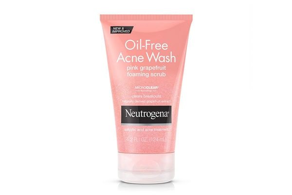 best salicylic acid products in india Neutrogena Oil-Free Acne Wash Foaming Scrub, Pink Grapefruit