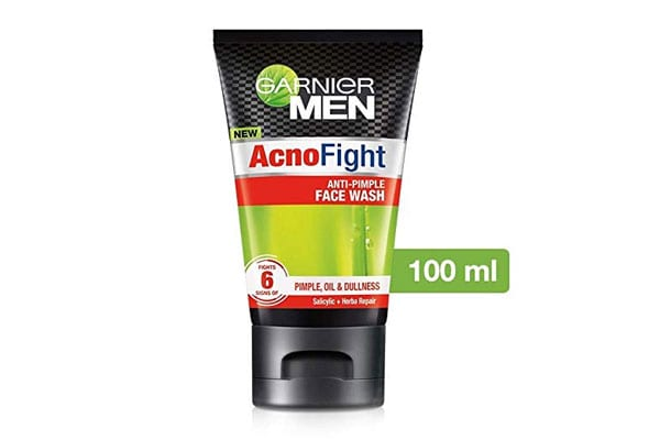 best salicylic acid products in india Garnier Acno Fight Face Wash for Men, 100 gm