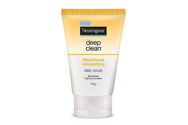 best salicylic acid products in india Neutrogena Deep Clean Blackhead Eliminating Daily Scrub