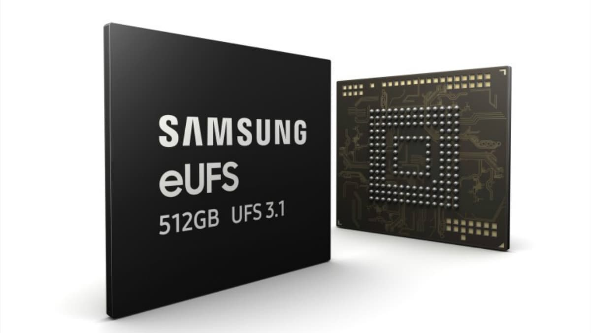 Samsung announces 512GB eUFS 3.1 chip with over 1GB/s write speed