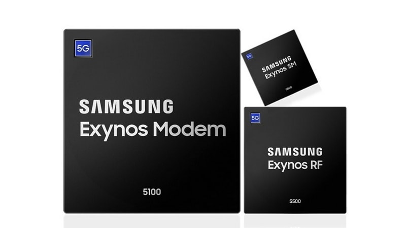 Samsung starts to crank out 5G modem chips