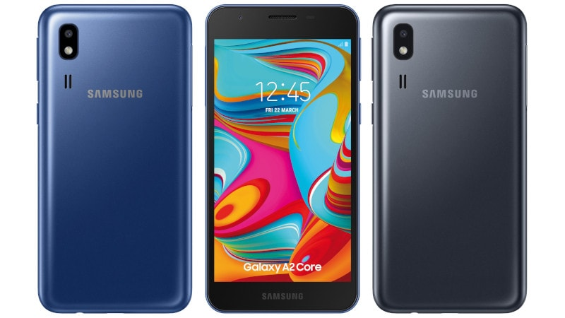 Samsung Galaxy A2 Core Surfaces Online, Likely to Be Android Go Edition Phone
