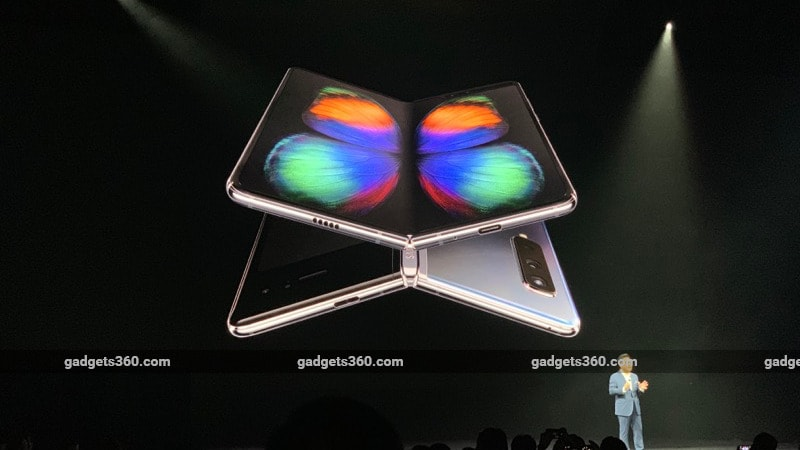 Samsung Galaxy Fold Unveiled, a Foldable Smartphone With a 7.3-Inch Infinity Flex Display