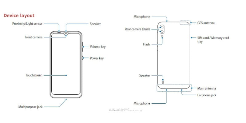 samsung galaxy m10 leak1 Samsung Galaxy M10