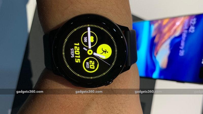 Samsung Galaxy Watch Active, Galaxy Fit और Galaxy Fit E लॉन्च, जानें इनकी खासियतें