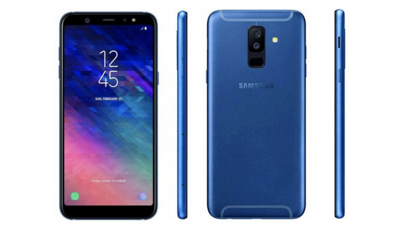 samsung galaxy a6 galaxy a6 leaked renders show infinity. Black Bedroom Furniture Sets. Home Design Ideas