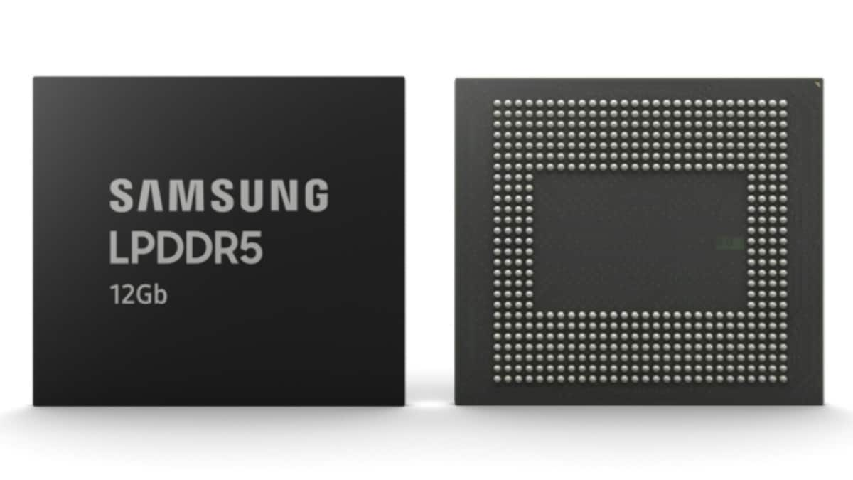 Samsung Starts Producing 12Gb LPDDR5 DRAM With Optimisations for 5G, AI Features