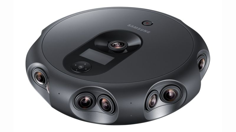 Samsung 360 Round Camera With 17 Lenses Launched, Focused on VR Content