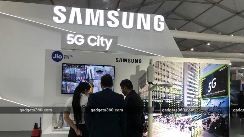 samsung 5g city imc 2018 gadgets 360 Samsung 5G city