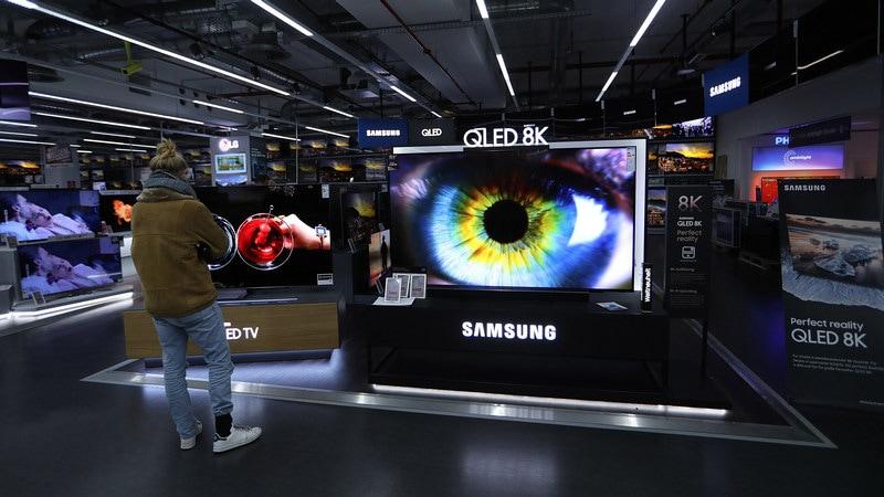 samsung 8k tv bloomberg TVS 8K