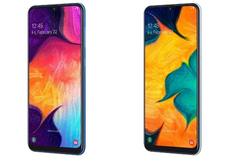 Samsung Galaxy A30 और Galaxy A50 हुए लॉन्च, जानें स्पेसिफिकेशन