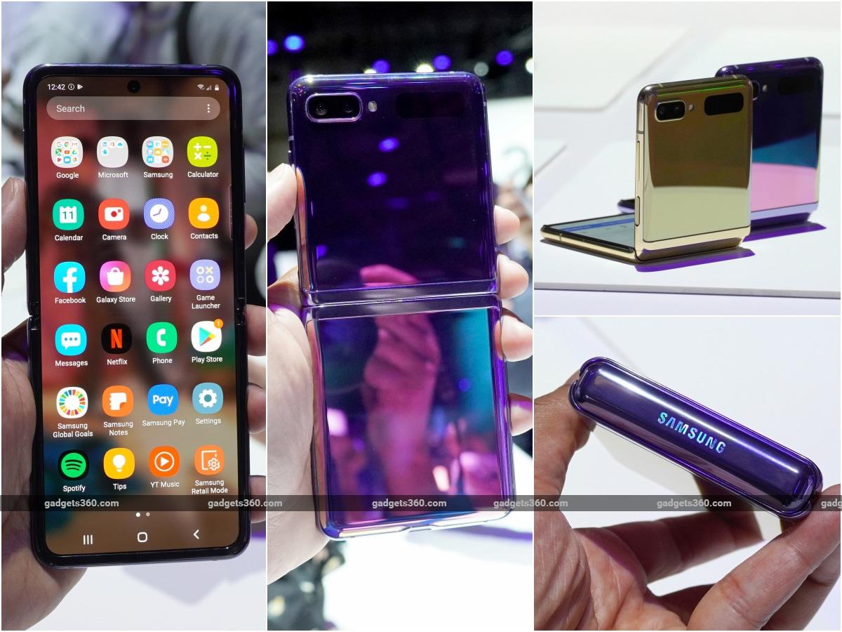 samsung Galaxy Z flip all sides samsung