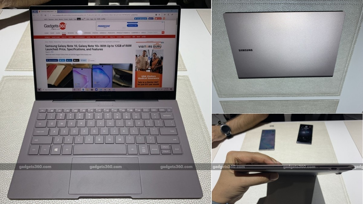 Samsung Galaxy Book S With Snapdragon 8cx Launched, Offers '23 Hours of Battery Life'