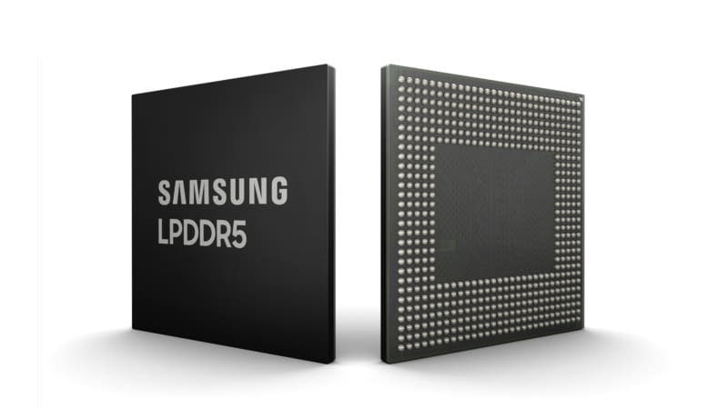 Samsung announces first 8GB LPDDR5 DRAM for smartphones